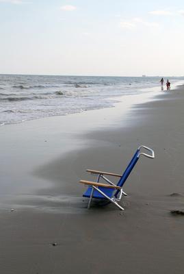 Empty chair, Ventnor NJ