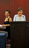Brigitte and Congresswoman Sue Myrick (R NC) at the Legislative Briefing