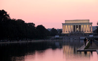 Lincoln Memorial and reflecting pool, DC
